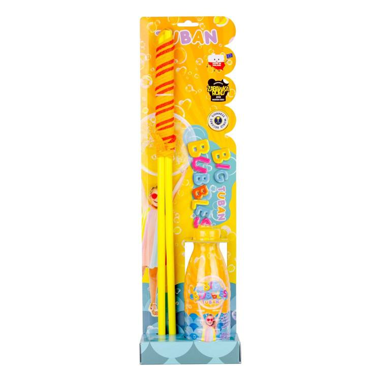 Giant bubble wand glasses + 400 ml SET