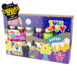 TUBI JELLY SET WITH 6 COLORS – MONSTERS